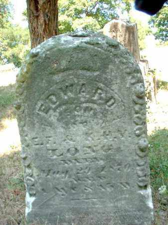 LONG, EDWARD - Meigs County, Ohio | EDWARD LONG - Ohio Gravestone Photos