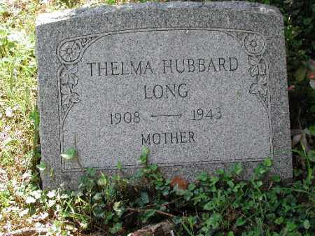 HUBBARD LONG, THELMA - Meigs County, Ohio | THELMA HUBBARD LONG - Ohio Gravestone Photos