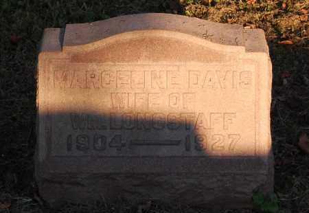 DAVIS LONGSTAFF, MARCELINE - Meigs County, Ohio | MARCELINE DAVIS LONGSTAFF - Ohio Gravestone Photos