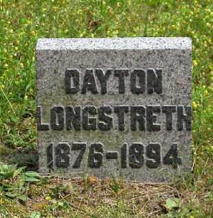 LONGSTRETH, DAYTON - Meigs County, Ohio   DAYTON LONGSTRETH - Ohio Gravestone Photos