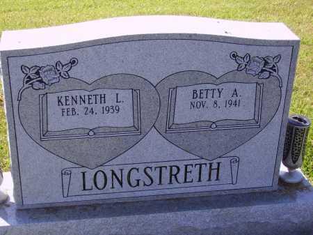 LONGSTRETH, KENNETH L. - Meigs County, Ohio | KENNETH L. LONGSTRETH - Ohio Gravestone Photos
