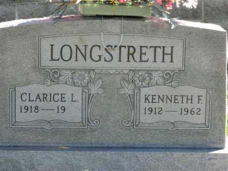 LONGSTRETH, KENNETH F. - Meigs County, Ohio | KENNETH F. LONGSTRETH - Ohio Gravestone Photos