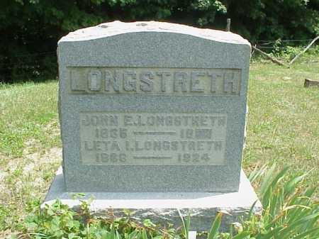 THOMAS LONGSTRETH, LETA I. - Meigs County, Ohio | LETA I. THOMAS LONGSTRETH - Ohio Gravestone Photos