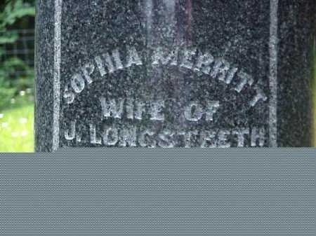 MERRITT LONGSTRETH, SOPHIA - Meigs County, Ohio | SOPHIA MERRITT LONGSTRETH - Ohio Gravestone Photos