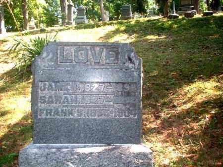 LOVE, JAMES - Meigs County, Ohio   JAMES LOVE - Ohio Gravestone Photos