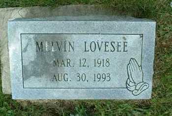 LOVESEE, MELVIN - Meigs County, Ohio | MELVIN LOVESEE - Ohio Gravestone Photos