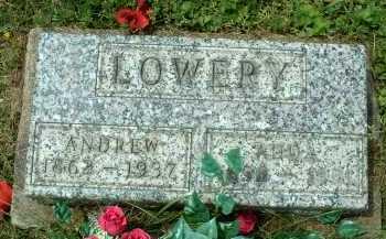 LOWERY, ANDREW - Meigs County, Ohio | ANDREW LOWERY - Ohio Gravestone Photos