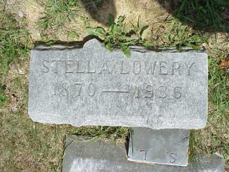 LOWERY, STELLA - Meigs County, Ohio | STELLA LOWERY - Ohio Gravestone Photos