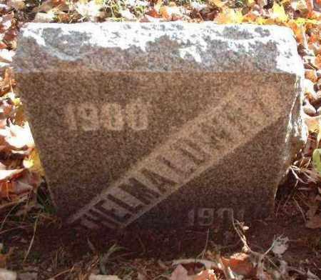 LOWRY, THELMA - Meigs County, Ohio   THELMA LOWRY - Ohio Gravestone Photos