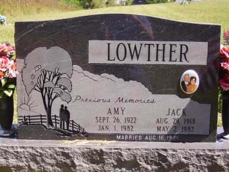 LOWTHER, JACK - FRONT - Meigs County, Ohio | JACK - FRONT LOWTHER - Ohio Gravestone Photos