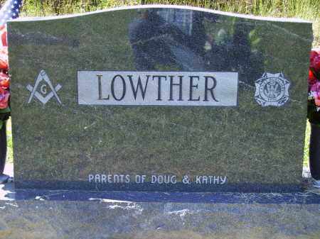 LOWTHER, AMY - BACK - Meigs County, Ohio | AMY - BACK LOWTHER - Ohio Gravestone Photos