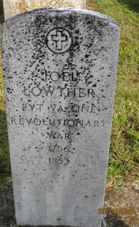 LOWTHER, JOEL - Meigs County, Ohio   JOEL LOWTHER - Ohio Gravestone Photos