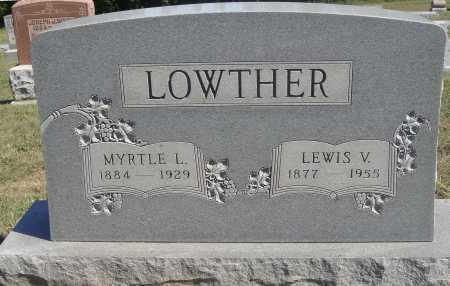 ILES LOWTHER, MYRTLE L. - Meigs County, Ohio | MYRTLE L. ILES LOWTHER - Ohio Gravestone Photos