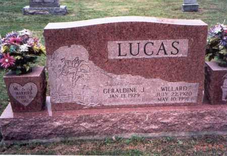 LUCAS, GERALDINE J. - Meigs County, Ohio | GERALDINE J. LUCAS - Ohio Gravestone Photos