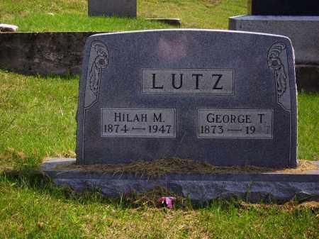 LUTZ, GEORGE T. - Meigs County, Ohio   GEORGE T. LUTZ - Ohio Gravestone Photos