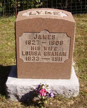 LYLE, LOUISA - Meigs County, Ohio | LOUISA LYLE - Ohio Gravestone Photos