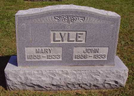 HUFFMAN LYLE, MARY ANN - Meigs County, Ohio | MARY ANN HUFFMAN LYLE - Ohio Gravestone Photos