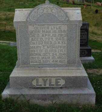 MCHAFFIE LYLE, MARY E. - Meigs County, Ohio | MARY E. MCHAFFIE LYLE - Ohio Gravestone Photos