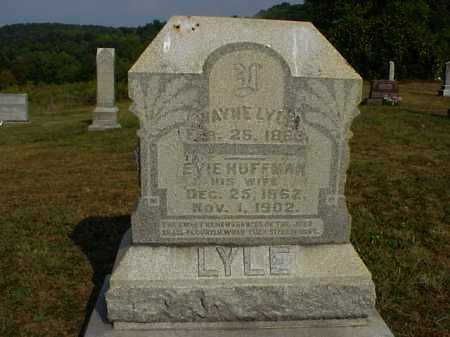 HUFFMAN LYLE, EVIE - Meigs County, Ohio | EVIE HUFFMAN LYLE - Ohio Gravestone Photos