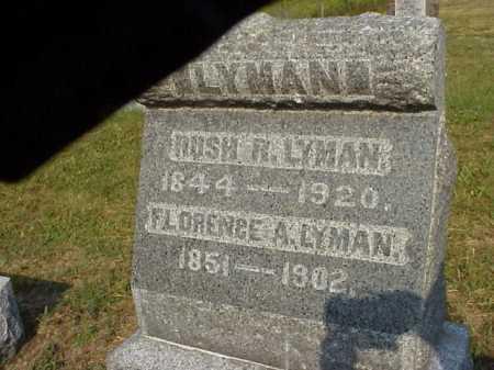 DAVIS LYMAN, FLORENCE A. - Meigs County, Ohio | FLORENCE A. DAVIS LYMAN - Ohio Gravestone Photos