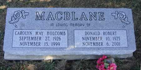 MACBLANE, DONALD ROBERT - Meigs County, Ohio | DONALD ROBERT MACBLANE - Ohio Gravestone Photos