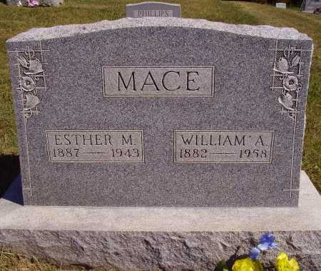 HILL MACE, ESTHER M. - Meigs County, Ohio | ESTHER M. HILL MACE - Ohio Gravestone Photos