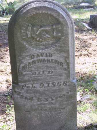 MANWARENG, DAVID - Meigs County, Ohio | DAVID MANWARENG - Ohio Gravestone Photos