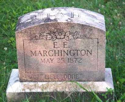 MARCHINGTON, E.E. - Meigs County, Ohio | E.E. MARCHINGTON - Ohio Gravestone Photos