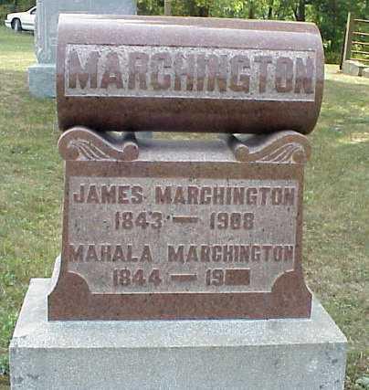 MARCHINGTON, JAMES - Meigs County, Ohio | JAMES MARCHINGTON - Ohio Gravestone Photos