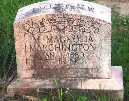 MARCHINGTON, M. MAGNOLIA - Meigs County, Ohio | M. MAGNOLIA MARCHINGTON - Ohio Gravestone Photos