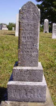 MARK, CORA E.- OVERALL VIEW - Meigs County, Ohio | CORA E.- OVERALL VIEW MARK - Ohio Gravestone Photos
