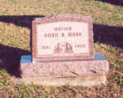 MARK, DORA B. - Meigs County, Ohio | DORA B. MARK - Ohio Gravestone Photos