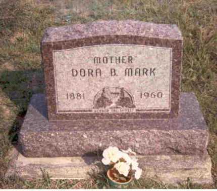 MARK, DORA B. - Meigs County, Ohio | DORA B. MARK - Ohio Gravestone Photos