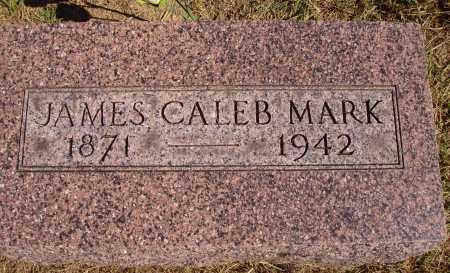 MARK, JAMES CALEB - Meigs County, Ohio | JAMES CALEB MARK - Ohio Gravestone Photos