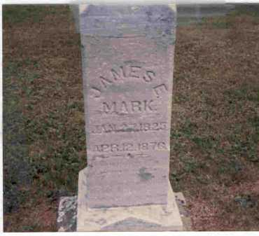 MARK, JAMES E. - Meigs County, Ohio   JAMES E. MARK - Ohio Gravestone Photos