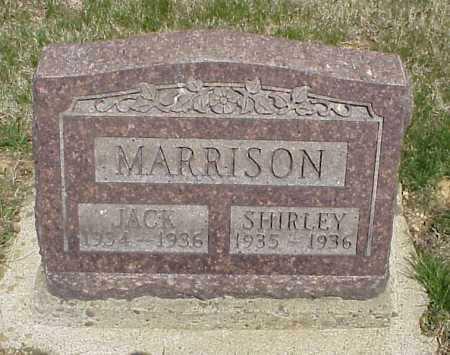 MARRISON, JACK - Meigs County, Ohio | JACK MARRISON - Ohio Gravestone Photos