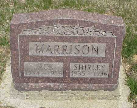 MARRISON, JACK - Meigs County, Ohio | JACK MARRISON - Ohio Gravestone Photos