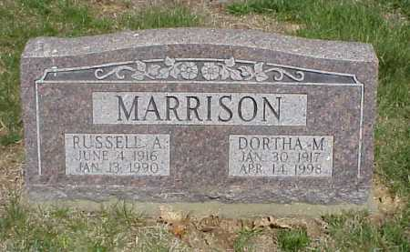 MARRISON, RUSSELL A. - Meigs County, Ohio | RUSSELL A. MARRISON - Ohio Gravestone Photos