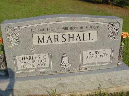 MARSHALL, CHARLES C. - Meigs County, Ohio | CHARLES C. MARSHALL - Ohio Gravestone Photos