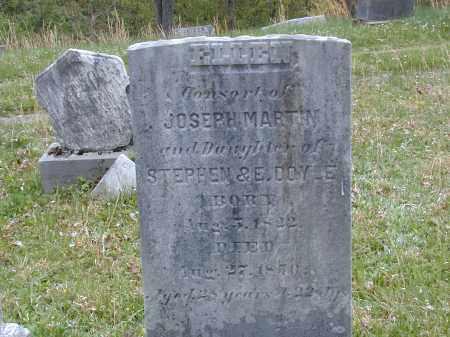 DOYLE MARTIN, ELLEN - Meigs County, Ohio | ELLEN DOYLE MARTIN - Ohio Gravestone Photos