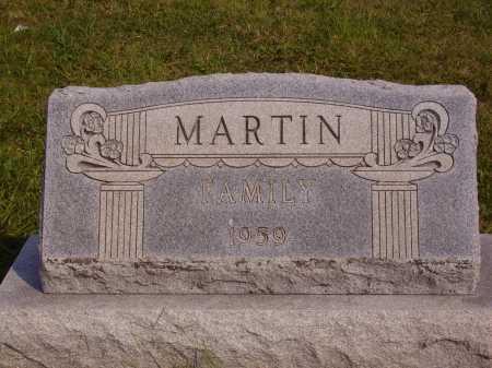 MARTIN, FAMILY MONUMNET - Meigs County, Ohio   FAMILY MONUMNET MARTIN - Ohio Gravestone Photos
