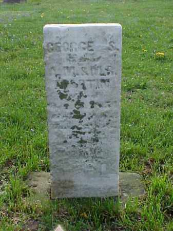 MARTIN, GEORGE S. - Meigs County, Ohio | GEORGE S. MARTIN - Ohio Gravestone Photos