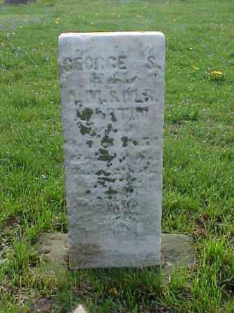 MARTIN, GEORGE S. - Meigs County, Ohio | GEORGE S. MARTIN - Ohio Gravestone Photos