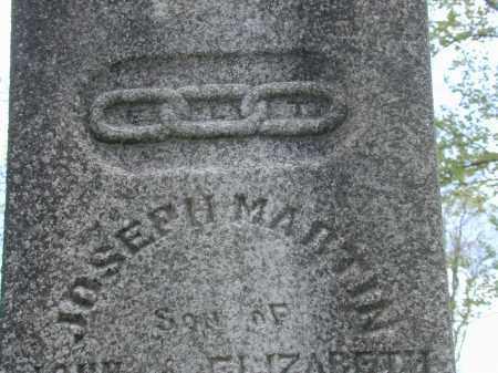 MARTIN, JOSEPH - CLOSE VIEW - Meigs County, Ohio   JOSEPH - CLOSE VIEW MARTIN - Ohio Gravestone Photos
