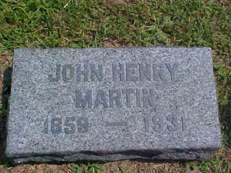 MARTIN, JOHN HENRY - Meigs County, Ohio   JOHN HENRY MARTIN - Ohio Gravestone Photos