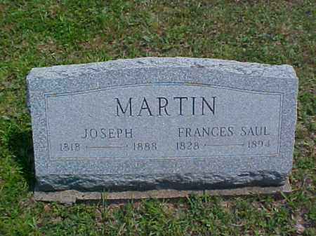 SAUL MARTIN, FRANCES - Meigs County, Ohio | FRANCES SAUL MARTIN - Ohio Gravestone Photos