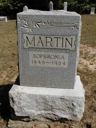MARTIN, SOPHRONIA - Meigs County, Ohio | SOPHRONIA MARTIN - Ohio Gravestone Photos