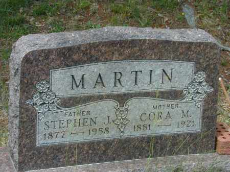 MARTIN, STEPHEN J. - Meigs County, Ohio | STEPHEN J. MARTIN - Ohio Gravestone Photos