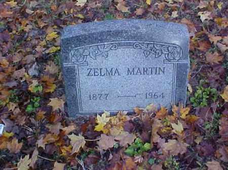 MARTIN, ZELMA - Meigs County, Ohio | ZELMA MARTIN - Ohio Gravestone Photos