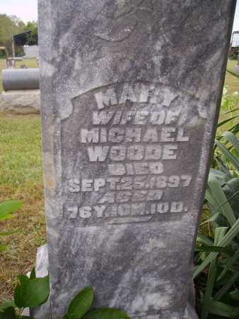 MARY, WOODE - Meigs County, Ohio | WOODE MARY - Ohio Gravestone Photos
